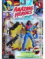 Bishop X-men Action Figure with Quick-draw Weapon Release - 1997 Marvel Comics Amazing Heroes Series