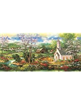 Little White Church A 1000 Piece Jigsaw Puzzle By Sunsout