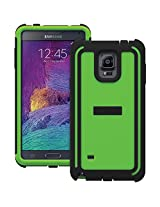 TRIDENT Samsung Galaxy Note 4 Cyclops Series Case - Retail Packaging - Green