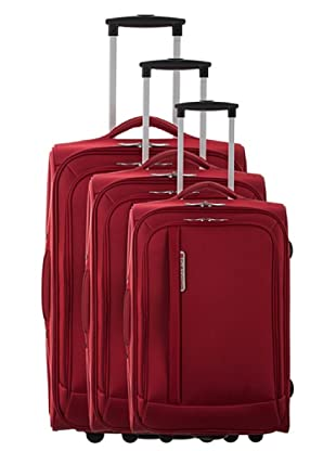 Platinuim 3er Set Trolley Mazzola (Rot)
