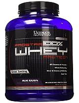 Ultimate Nutrition Prostar 100% Whey Protein - 5.28 lbs (Rum Raisin)