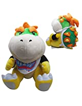 "Super Mario Plush 7"" Bowser Jr. Soft Stuffed Plush Toy Doll By Speedup"