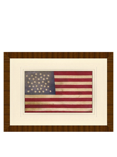 Reproduction of 35-Star American Flag, 24