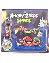 Angry Bird Watch and Wallet Set