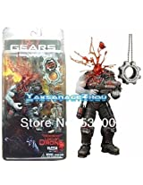 Neca Go W Gears Of War Headshot Locust With A Cog Tags Box Set Action Figure Figurine Toy Doll