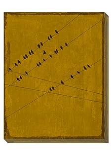 Art Classics Birds at Rest Ochre