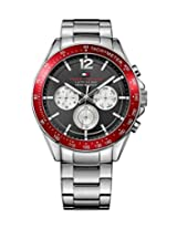 Tommy Hilfiger Sophisticated Sport Analog Display Grey Dial Men's Watch- TH1791122J