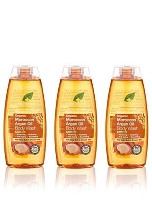 Dr.Organic Set 3 Gel de Ducha de Argán 250 ml (u)
