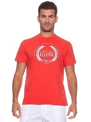 Ellesse Camiseta Circolo (Rojo)
