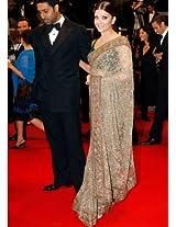 Aishwarya Rai Cannes Award Bollywood Saree By Vamika