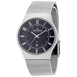 SKAGEN (スカーゲン) 腕時計 basic steel mens 233XLSSM ケース幅: 36mm メンズ [正規輸入品]