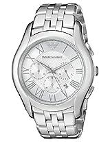 Emporio Armani Men's AR1702 Classic Analog Display Analog Quartz Silver Watch