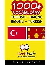 1000+ Turkish - Hmong, Hmong - Turkish Vocabulary