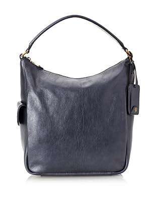 Yves Saint Laurent Women's Soft Leather Tote, Blue