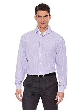 Hackett Camisa Rayas (Morado / Blanco)