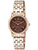 Giordano Analog Brown Dial Women's Watch - P2045-55