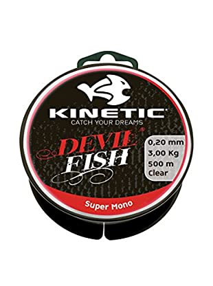 Kinetic Angelschnur Super Mono 0,25 mm natur