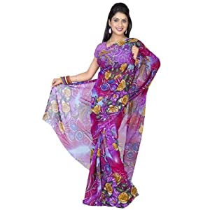 Stunning Printed Saree For Women