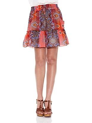 HHG Falda Beverly (Rojo Coral)