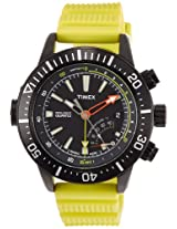 Timex Intelligent Quartz Chronograph Black Dial Men's Watch - T2N958