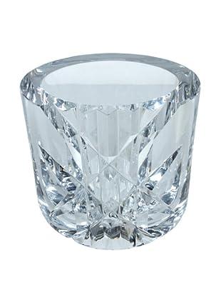 Orrefors Cut Glass Vase, Clear