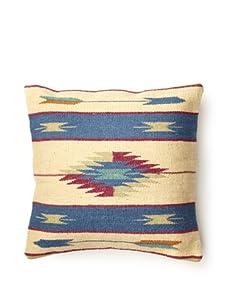 La Boheme Hand Woven Pillow (Navy)