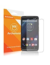 Droid Turbo Screen Protector, Archshield - Motorola Droid Turbo Premium High Definition (HD) Clear Screen Protector 3-Pack - Retail Packaging (Lifetime Warranty)