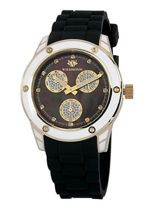 Wellington Damen-Armbanduhr Geraldine Analog Silikon WN506-222A