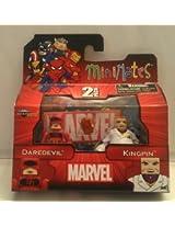 2012 Marvel Minimates Daredevil & Kingpin