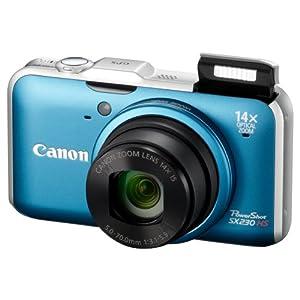 Canon デジタルカメラ PowerShot SX230 HS 1210万画素 裏面照射CMOS 広角28mm 光学15倍 3.0型ワイド液晶 フルHD