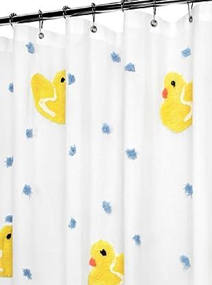 Park B. Smith Ducky Ducky Shower Curtain (Blue)