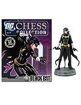 Dc Superhero Black Bat White Pawn Chess Piece With Magazine