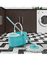Floor Cleaning Mop Set of Two Pieces Blue from Birde