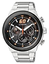 Citizen Sport Eco-Drive Chronograph Orange 45 mm Men's Watch CA4134-55E