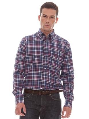 Gant Camisa Cuadros (marino)