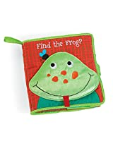 Manhattan Toy Soft Finding Activity Book, Find the Frog