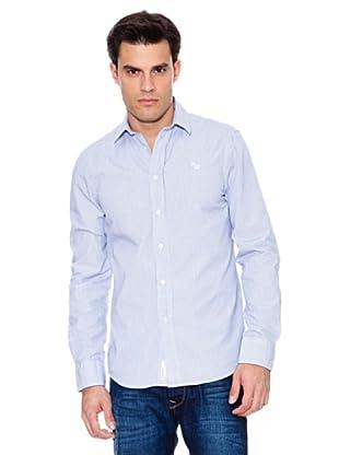 Pepe Jeans London Camisa Portland (Azul Claro / Blanco)