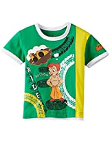 Chhota Bheem Boys T-Shirt (GGAPP-CB241A - Green_2-3 years)