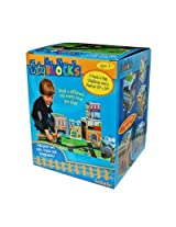 Babalu- City Blocks Stacking Blocks & Playmat by Babalu