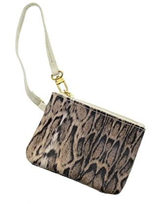 Furla Ledertasche Animal ecru