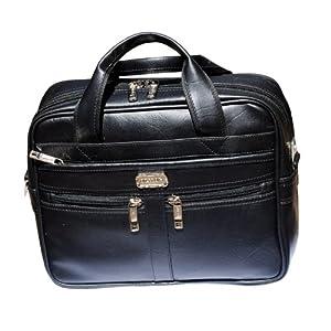 Alkah 0097 Black Office bag