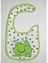 Carter's Green rabbit Baby Bib (Unisex)