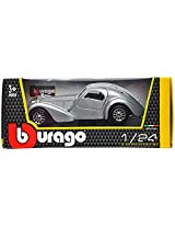 Bburago Bugatti Atlantic Scale-1:24 Die Cast Toy Car (Grey)