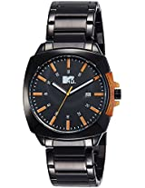 MTV Analog Black Dial Men's Watch - B7021OR