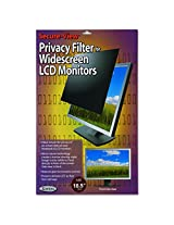 Kantek Secure-View Blackout Privacy Filter for 18.5-Inch Widescreen LCD Monitors (Measured Diagonally - 16:9 Aspect Ratio) (SVL18.5W)