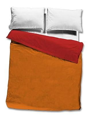Don Algodón Saco Nórdico 100% Algodón (Naranja / Rojo)