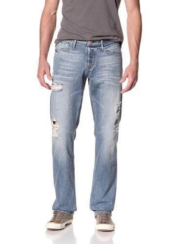 Earnest Sewn Men's Fulton Straight Leg Jean (Justin)
