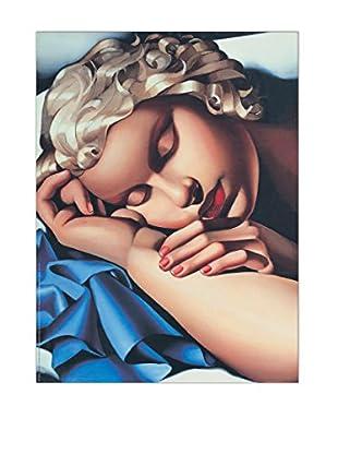 ArtopWeb Panel de Madera De Lempicka la Dormiente 80x60 cm