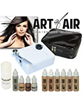 Art Of Air Professional Airbrush Cosmetic Makeup Kit