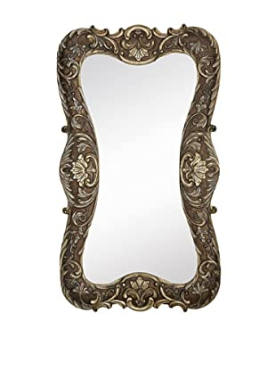 Majestic Mirrors Shaped Mirror, Antique Silver, 70